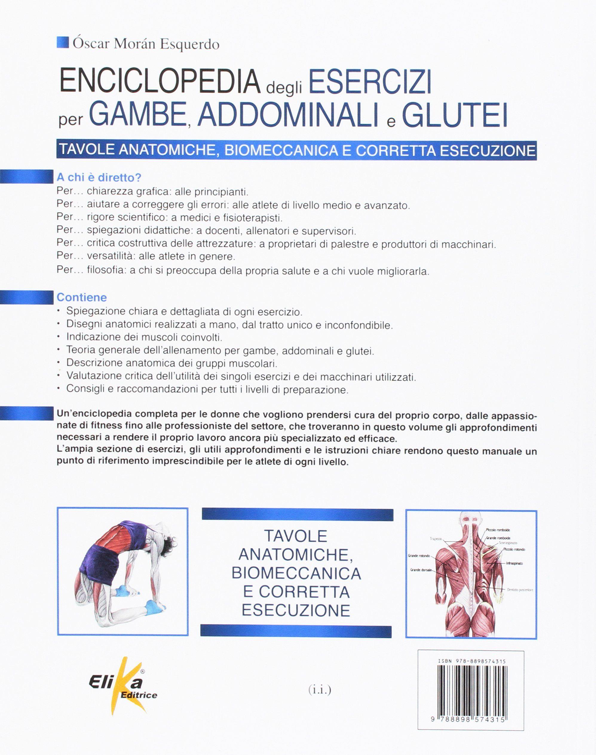 Enciclopedia Degli Esercizi Per Gambe Addominali E Glutei