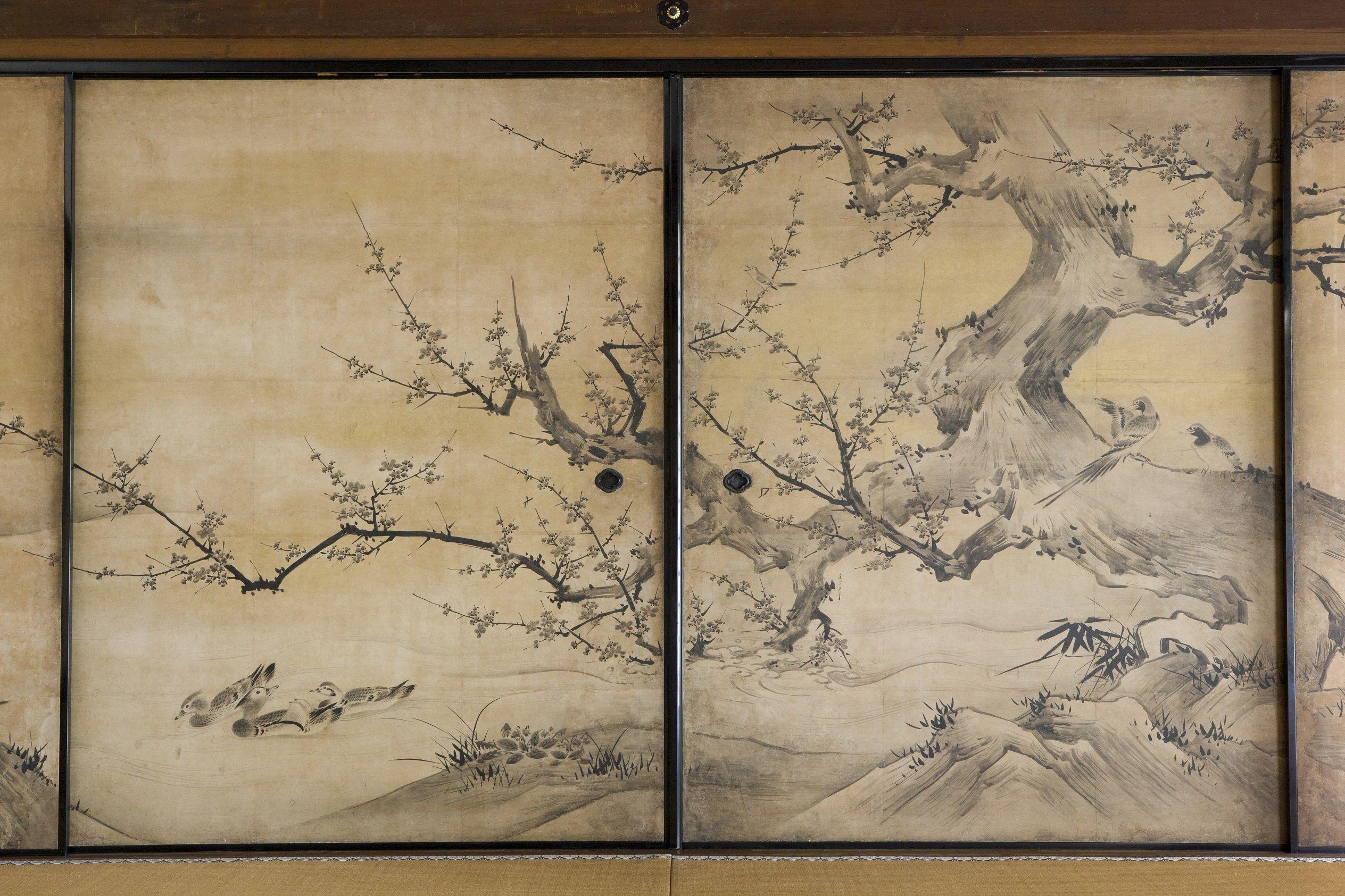 狩野永徳筆『花鳥図』4s 狩野永徳筆『花鳥図』4s | Kano Eitoku - 狩野永徳:J