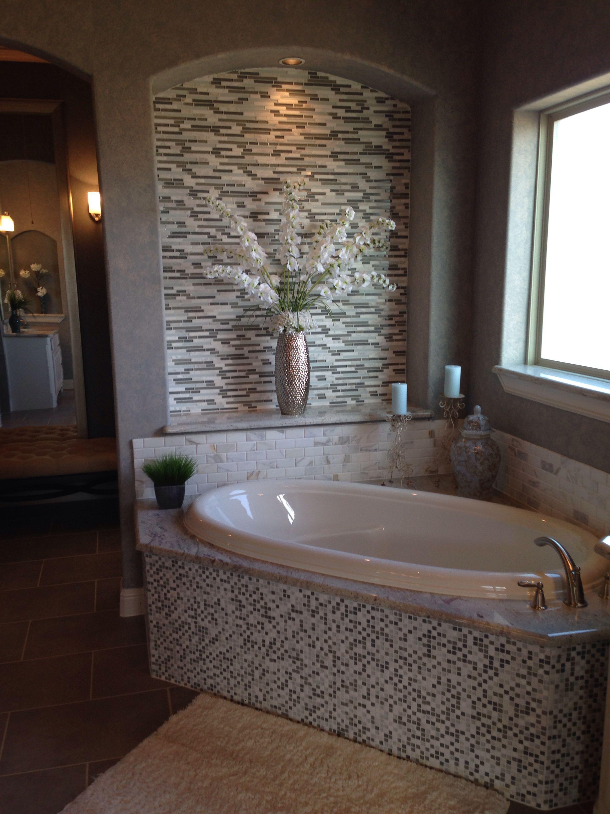 Nice Tub Area Bathroom Tile Work In 2019 Bathroom