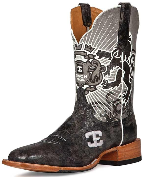 e270e5821ea2 These new Cinch Edge men s cowboy boots will feel good on your .