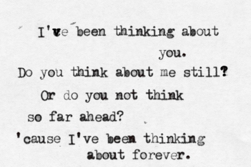 listen to frank ocean thinking about you