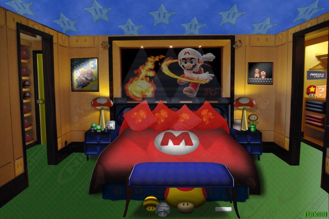 1000 Images About Game Room On Pinterest Home Gyms Game Super Mario Bedroom