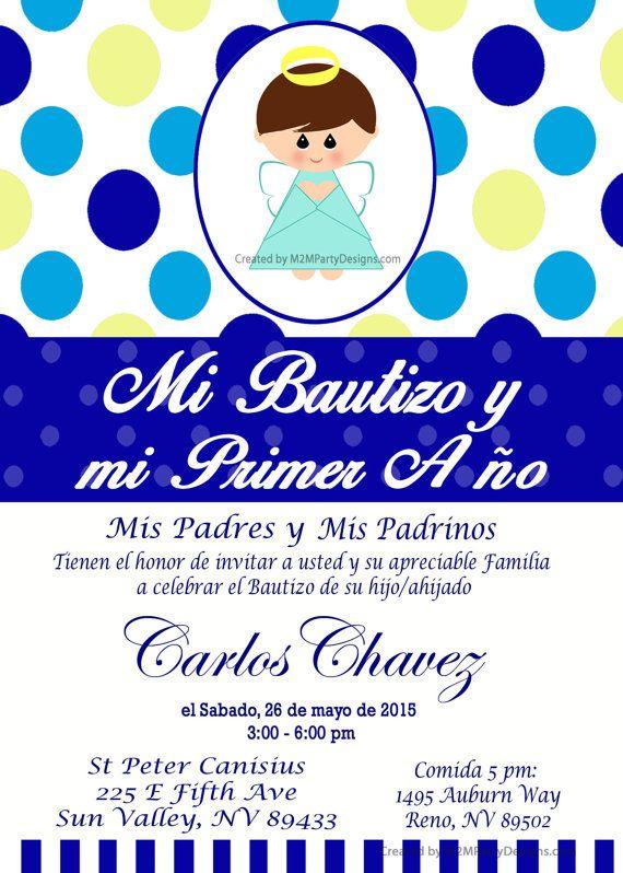 Tarjetas De Bautizo Y Cumpleanos Invitaciones De Bautismo Recuardos - Tarjetas-de-invitacion-cumpleaos
