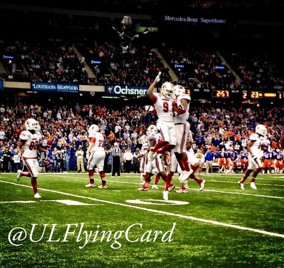 Louisville Touchdown at the Allstate Sugar Bowl 2013