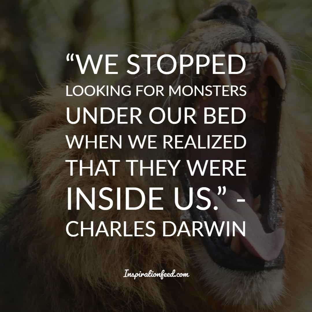 35 Charles Darwin Quotes And Sayings About Life Survival And Change Inspirationfeed Darwin Quotes Evolution Quotes Charles Darwin Quotes