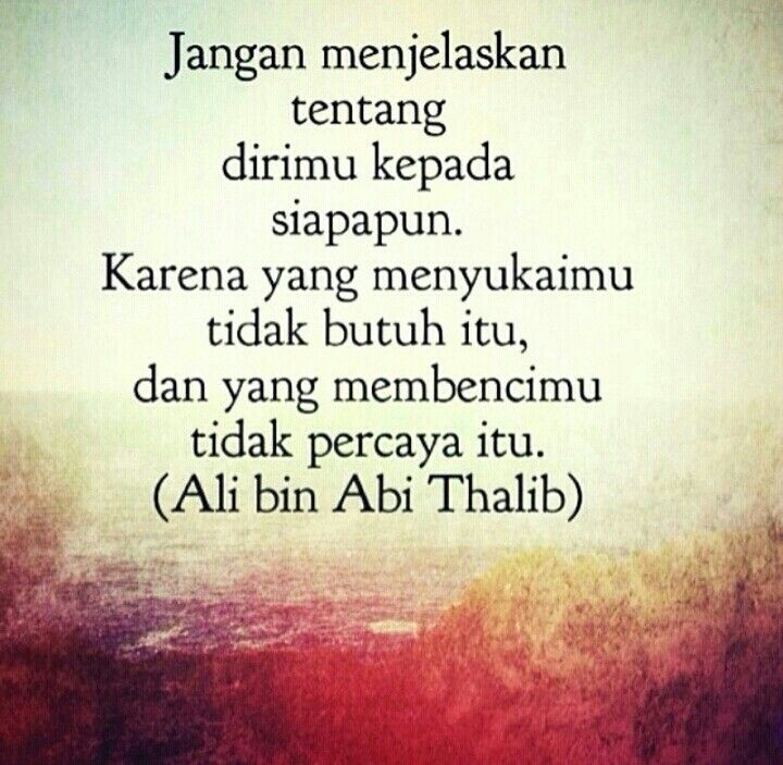 Hadits Ali Bin Abi Thalib Tentang Berharap Kepada Manusia 21
