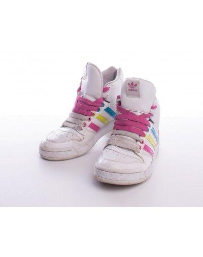 Neon mano 25 Size Stripes 00 Seconda 40 Adidas Euro Eu White Sneakers C4axwnXTq
