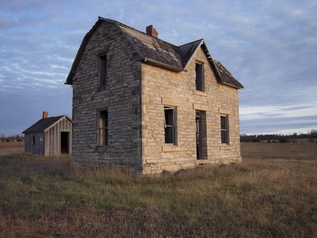 Old Kansas Farmhouse