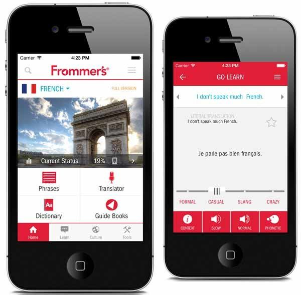 A New Translation App from Frommer's   Travel app. Trip planning. Traveling by yourself