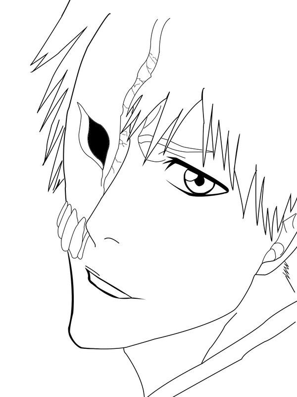 Bleach Ichigo Coloring Pages Reinanco Coloring Pages Bleach Color Bee Movie