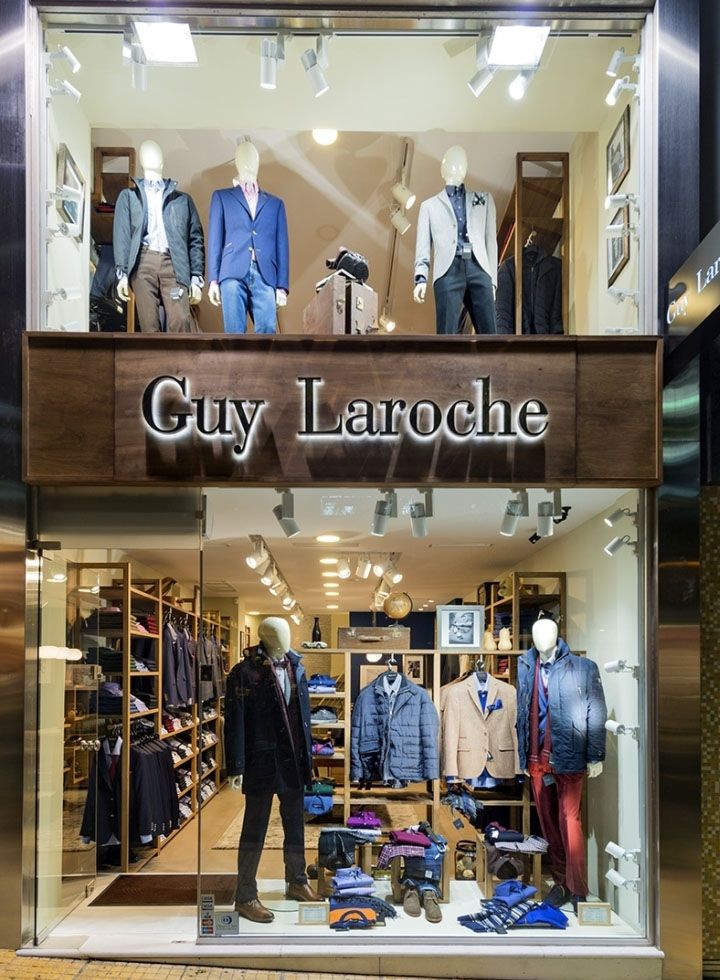 Guy laroche men s clothes store by square design interiors athens greece retail design blog for Clothing store interior design pictures