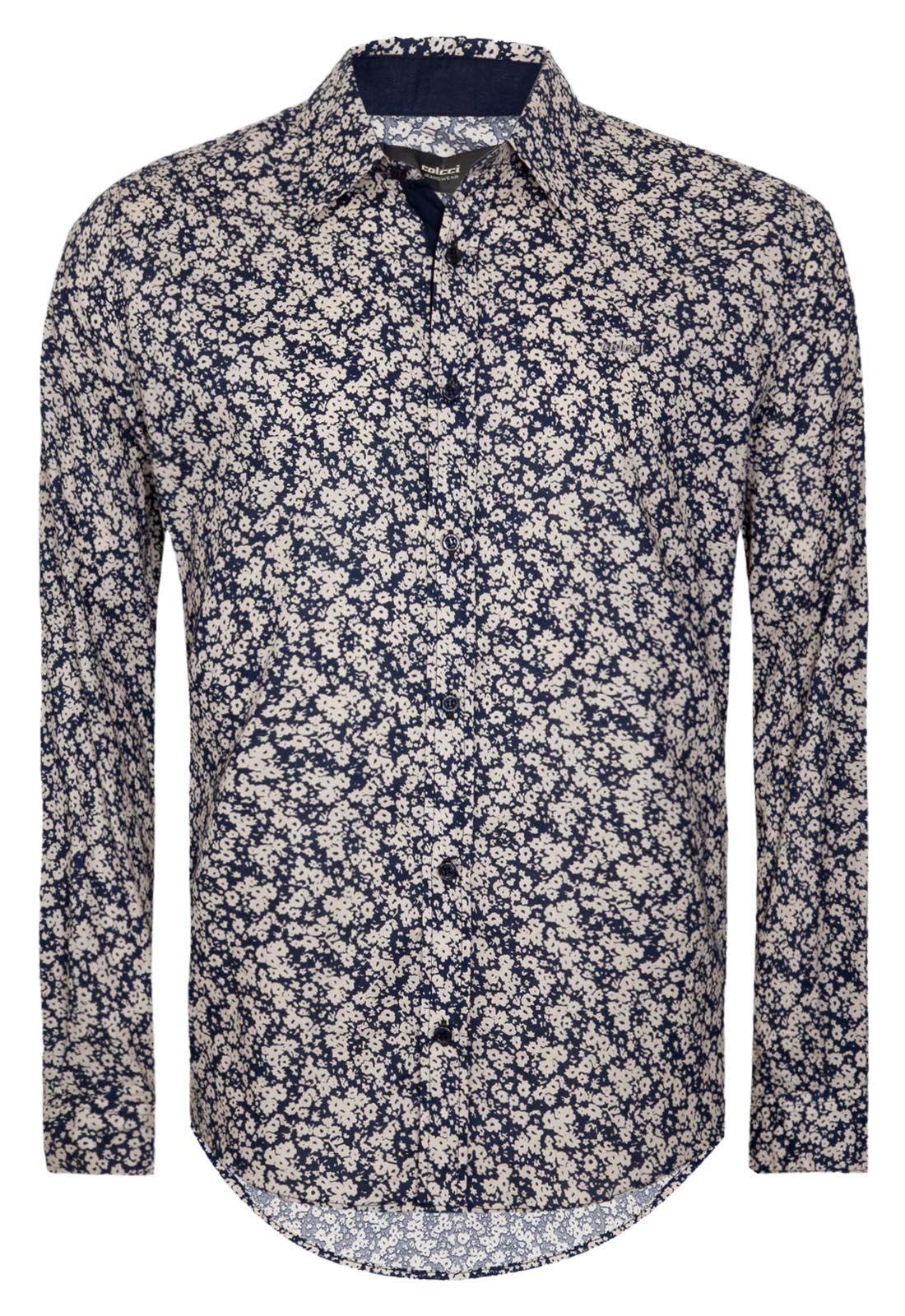 898e29f21 Camisa Colcci masculina floral | john MDB2 | Moda floral, Moda e ...