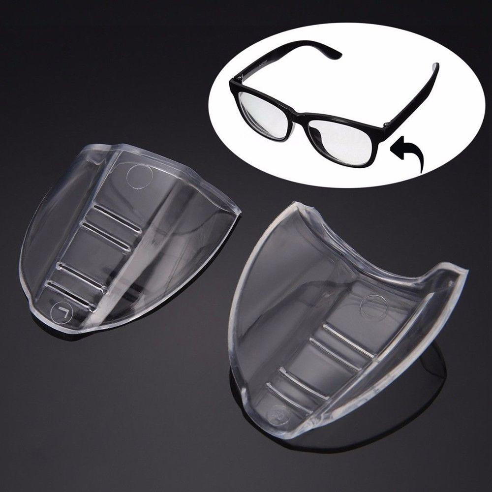 Universal Clear Flexible Side Shields Safety Glasses