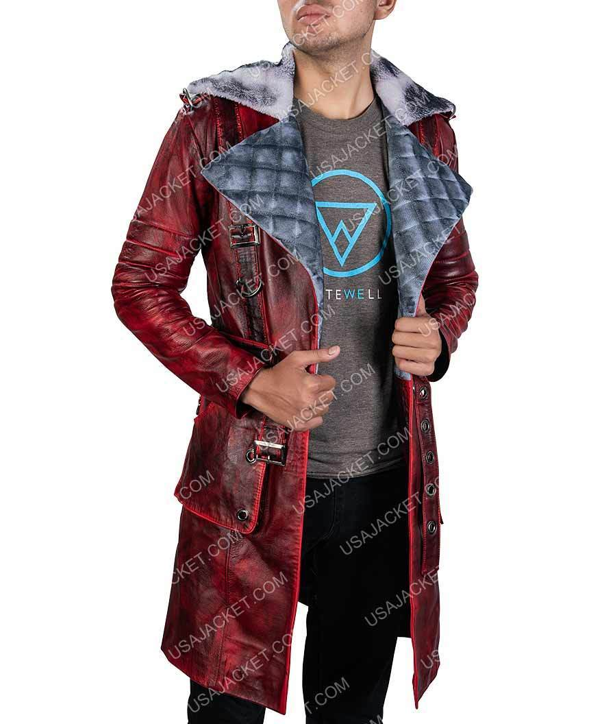 Fallout 4 Halloween 2020 Fallout 4 Nuka Raider Halloween Cosplay Costume Leather Coat in