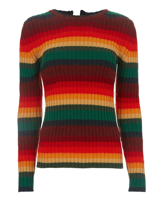 72e8ca28ae1 21 Rainbow Sweater  A primary rainbow colored knit with long sleeves and…
