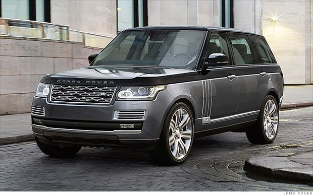 Land Rover S New 200 000 Suv Is Most Expensive Ever Range Rover Range Rover Sv Land Rover