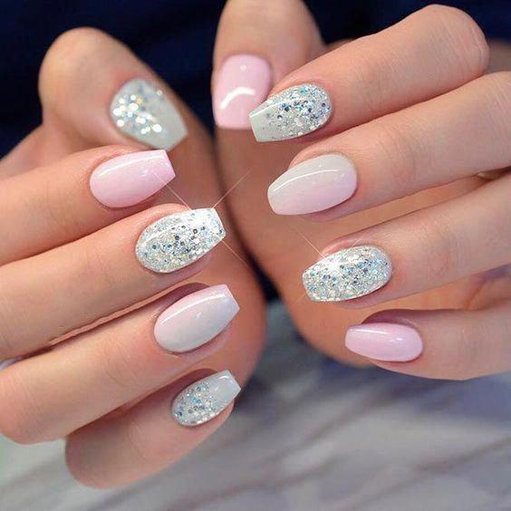 #Acrylic #Acrylic Nails kylie jenner #Color #Cute #Nails #Natural