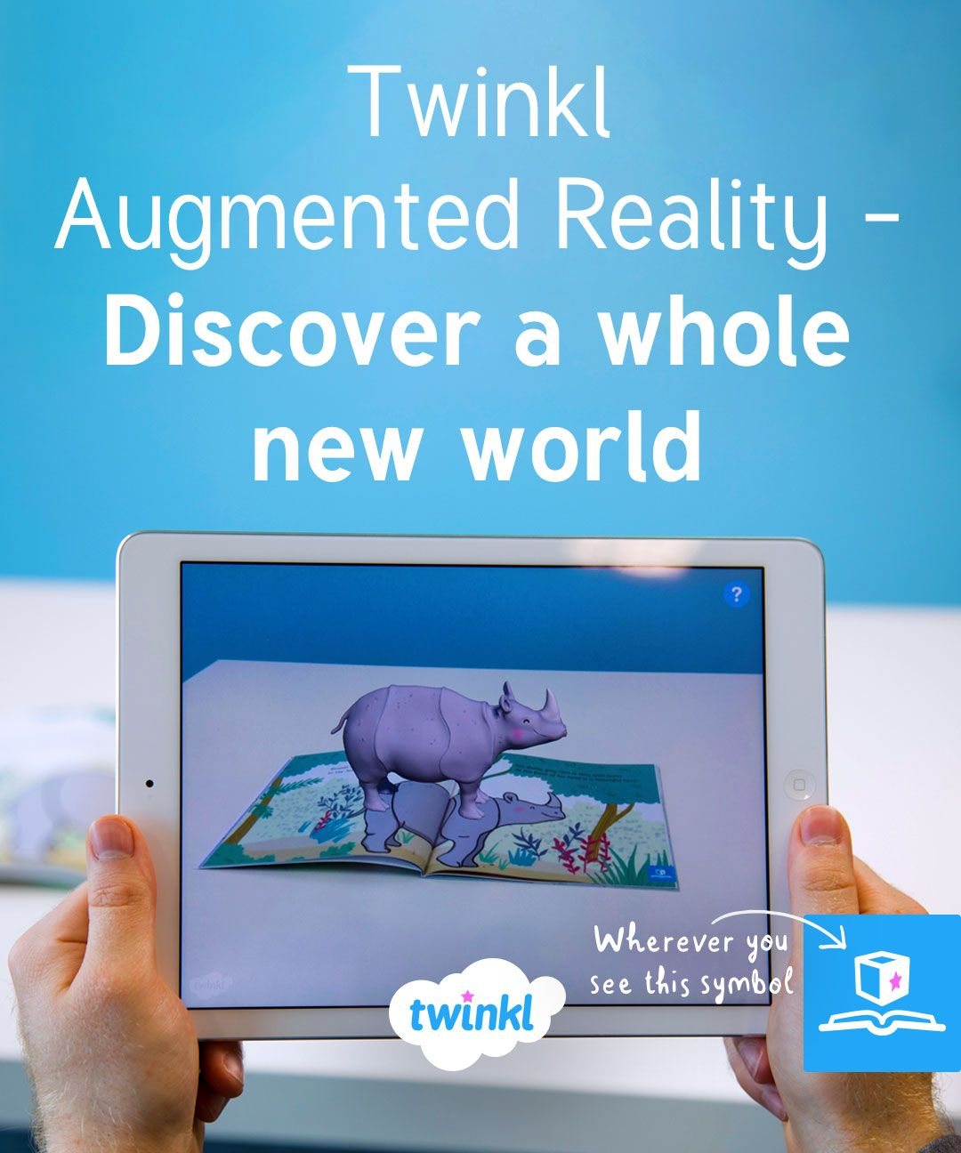 Augmented Reality in the classroom! Bring Ronald the Rhino