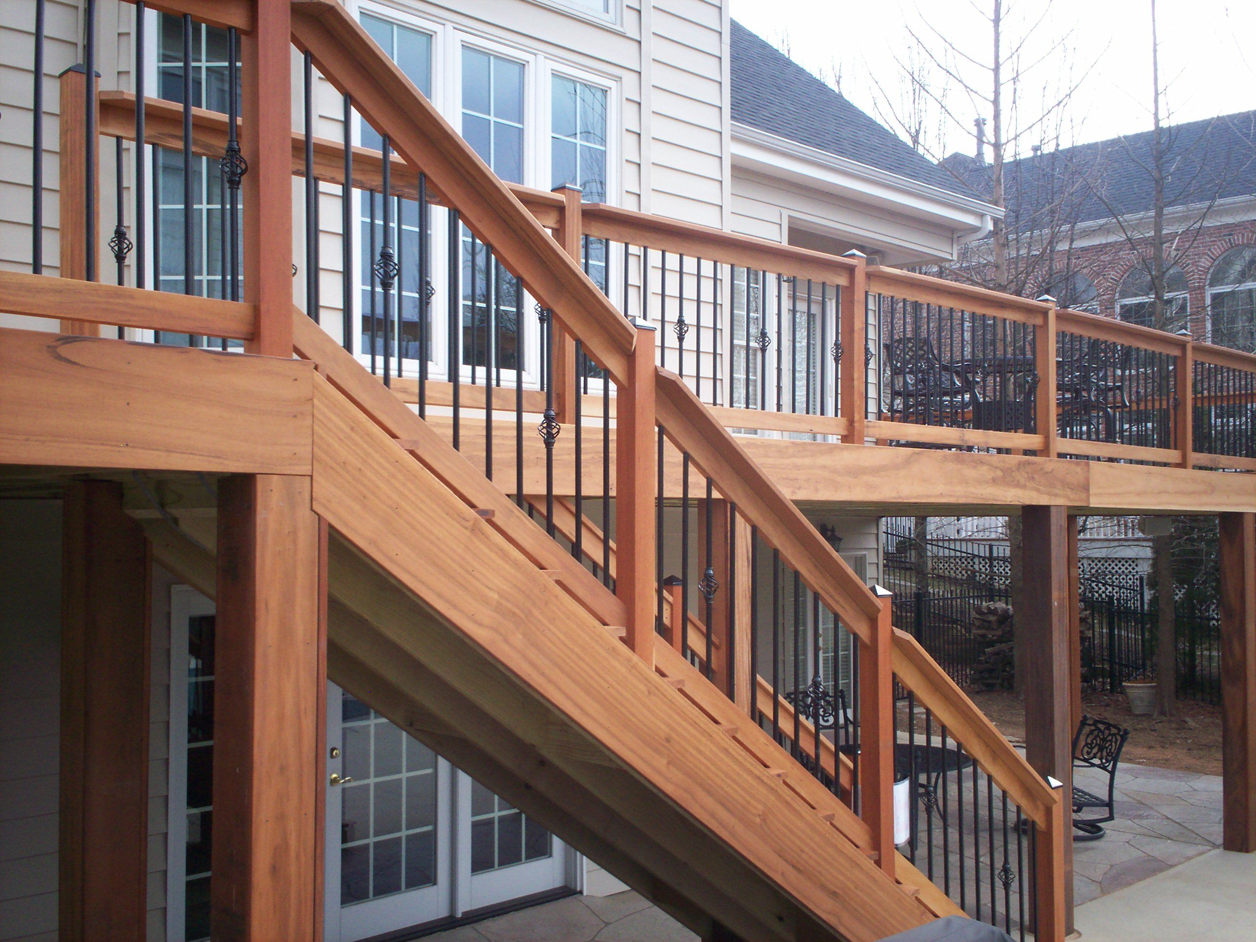 Aluminum Deck And Stair Railing Systems | Bedroom and Living
