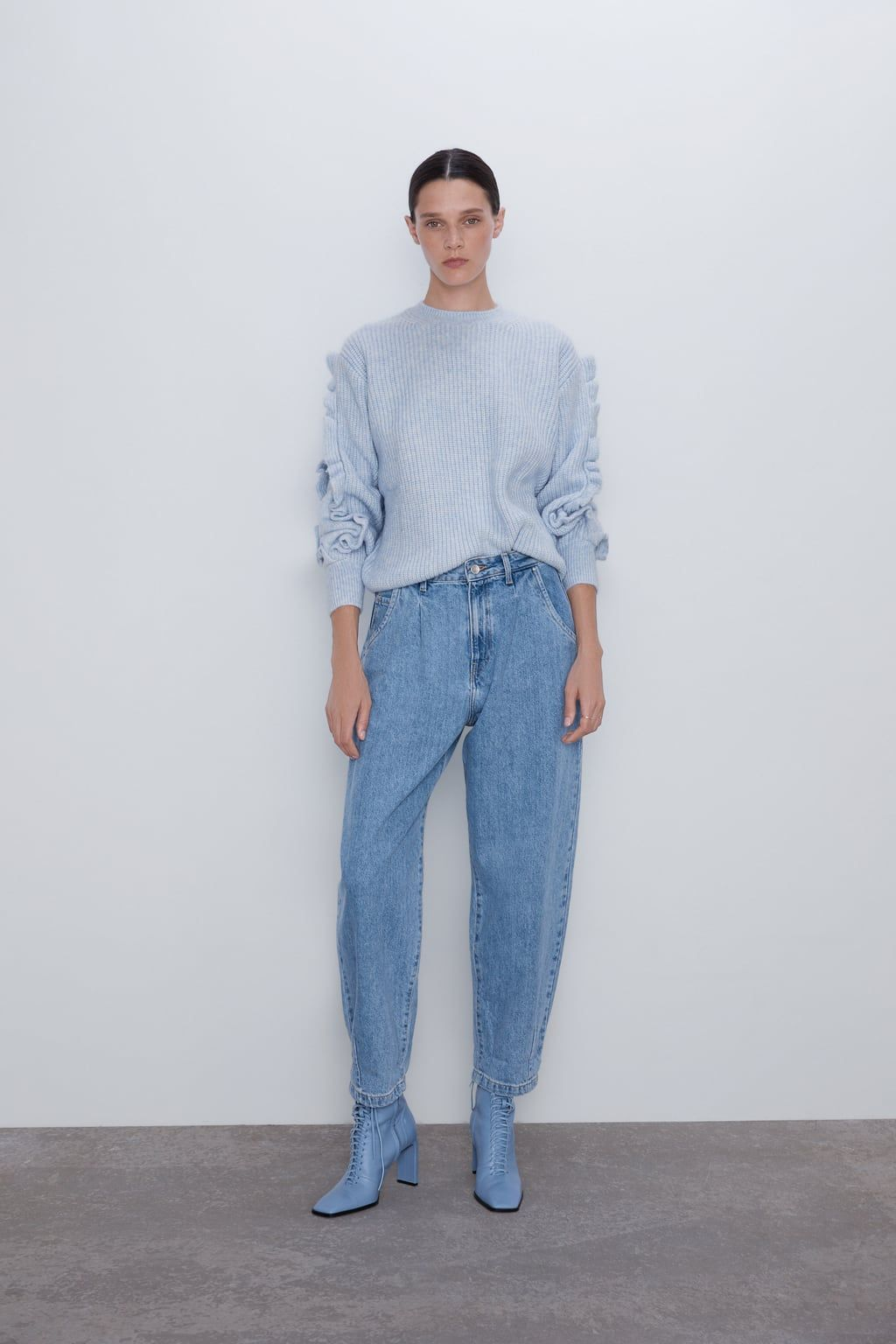 JEANS Z1975 SLOUCHY PINZAS in 2019 | Denim trends, Jeans