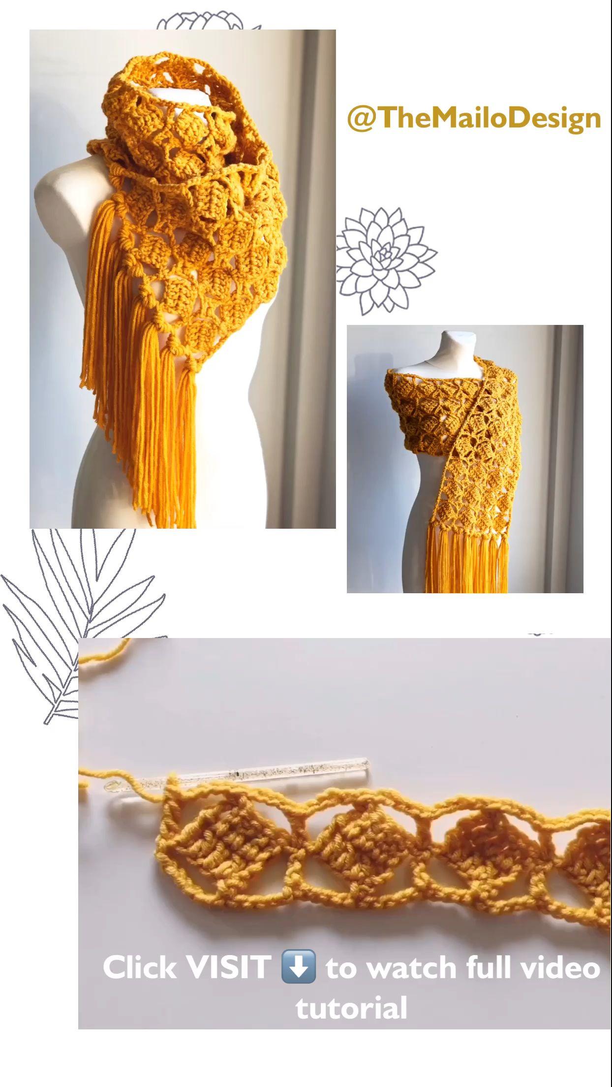 Photo of Free Crochet Pattern – Meiss Scarf