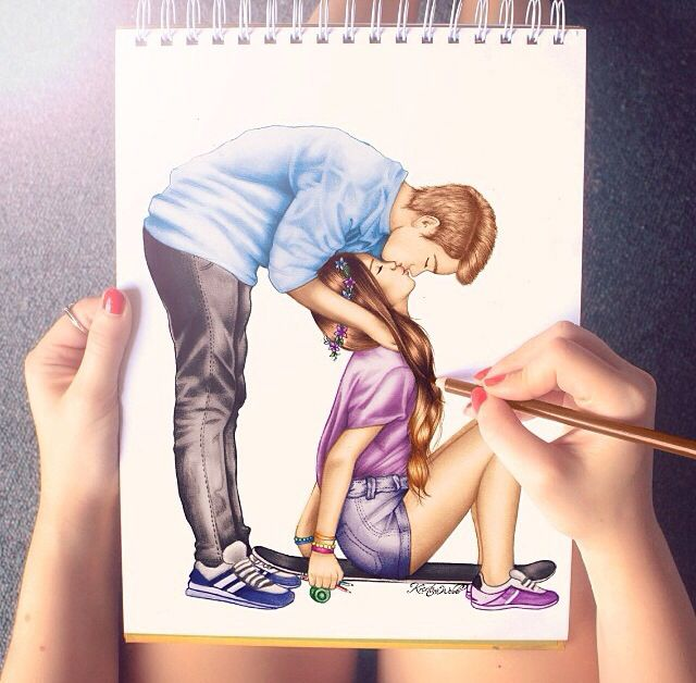 pärchen zeichnen