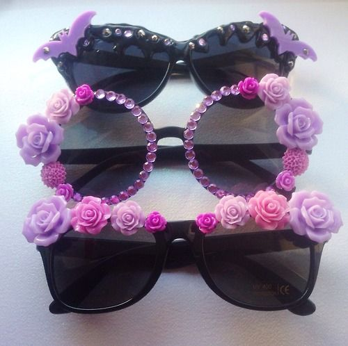 DR PEEPERS 5th Avenue Purple 50s Retro Cat Eye Leopard Sunglasses Costume