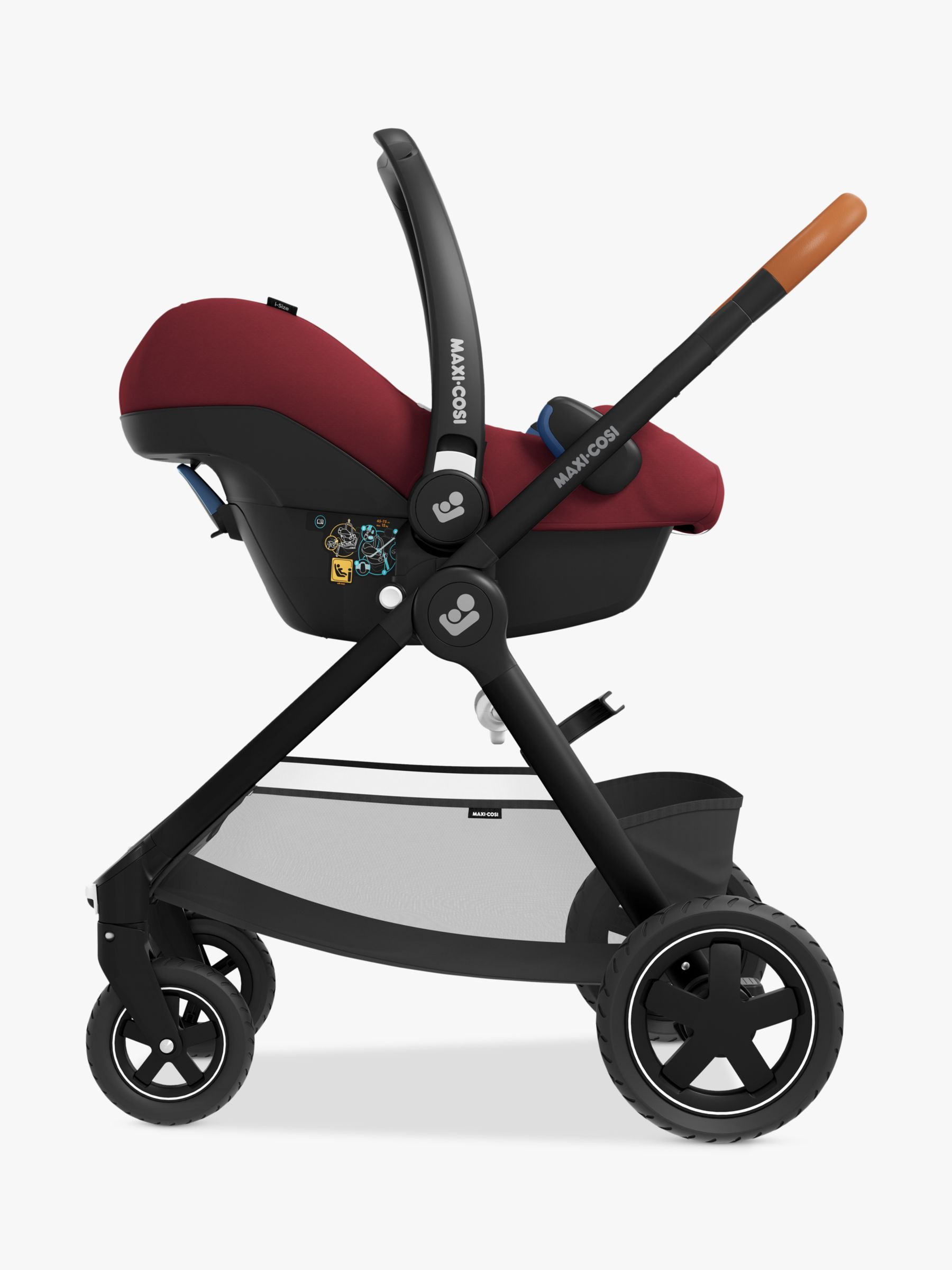 MaxiCosi Rock Group 0+ iSize Baby Car Seat, Essential