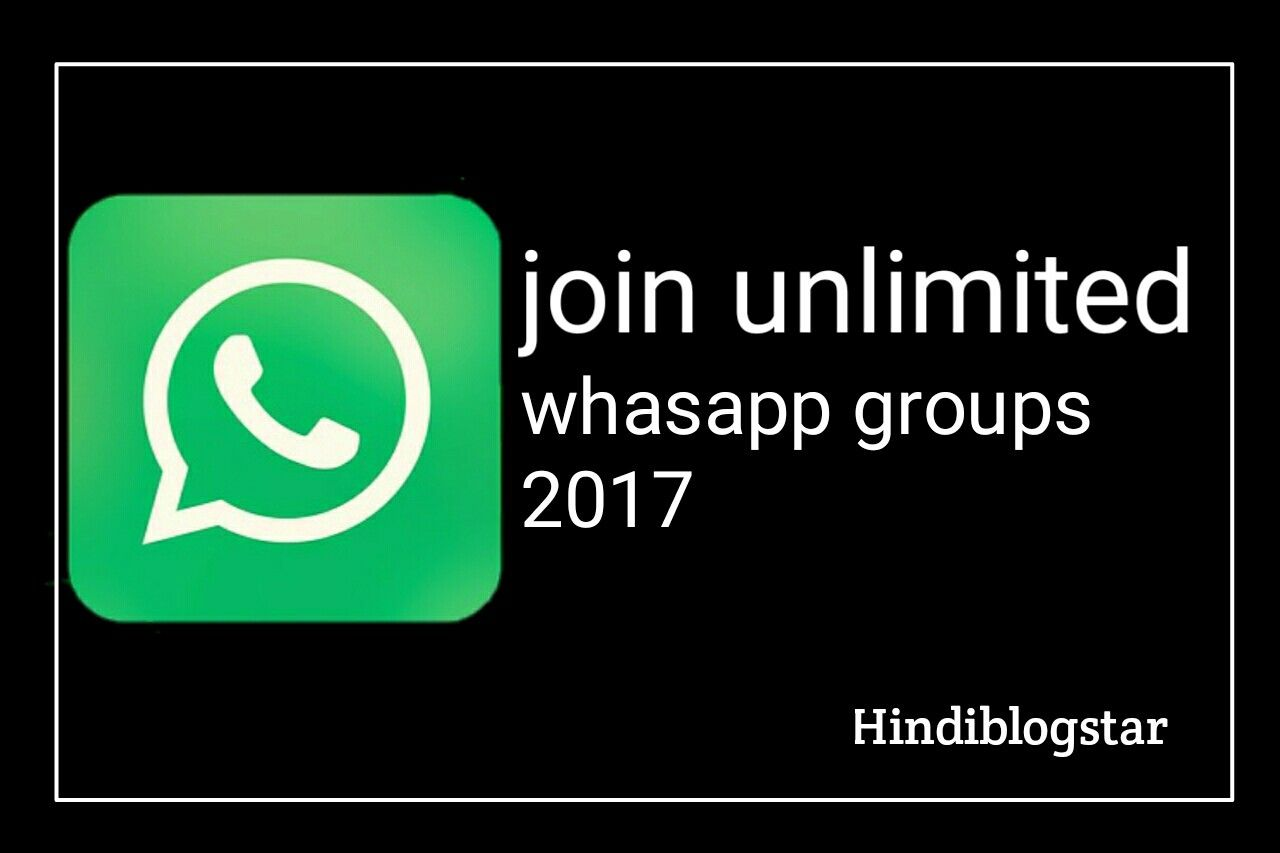 Join unlimited Latest New WhatsApp Groups Link 2017
