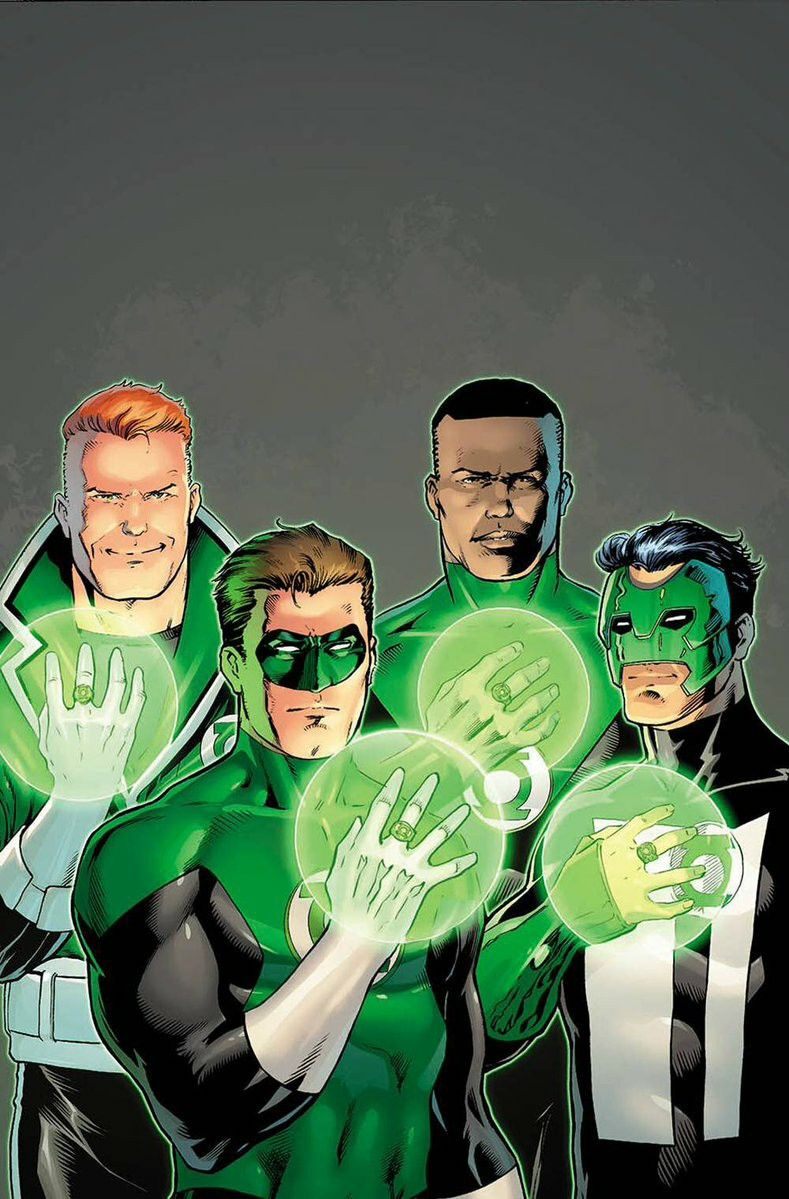 3a51d13894e2 Lanterns of Earth Left to Right  Guy Gardner
