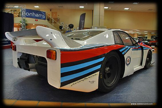 LANCIA BETA MONTECARLO MARTINI RACING REAR  CAR DESIGN
