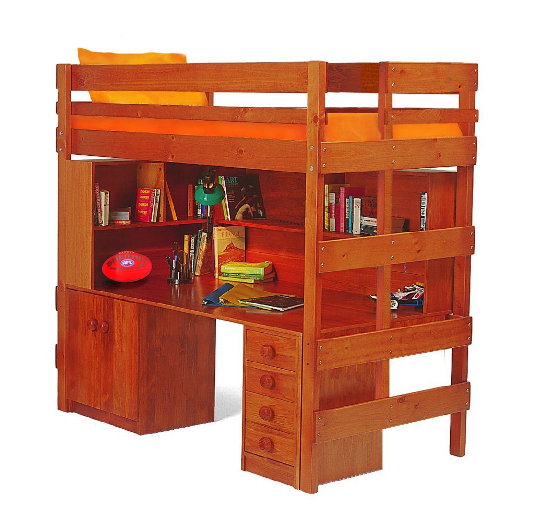 Spacesaver Bed super desk space saver loft bed is a huge desk with plenty of