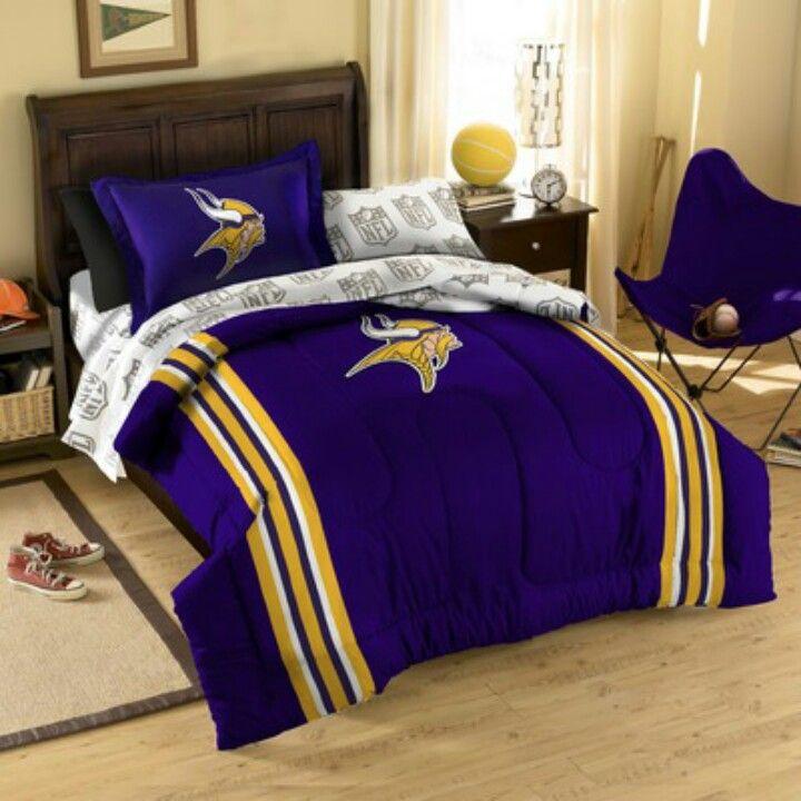Bed Set Minnesota Vikingsbed