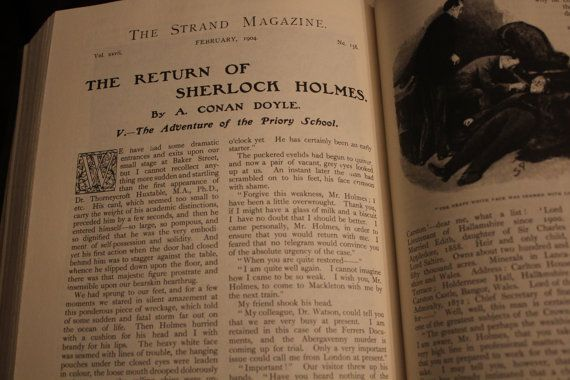 The Original Illustrated Sherlock Holmes Castle By CTsUniquities