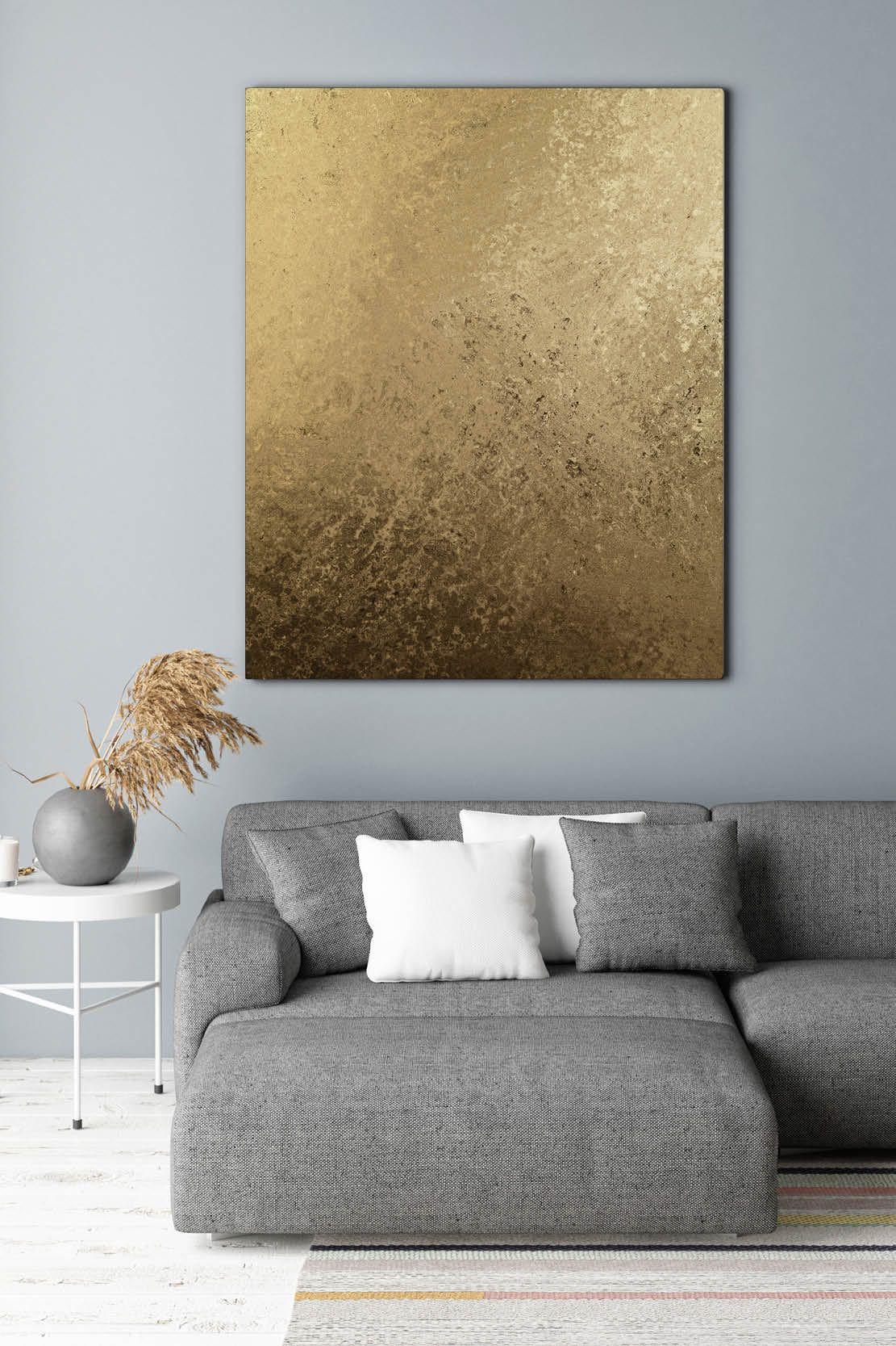 Hochwertiges Akustikbild Gold Ii Im Sanften Metallic Look Erhaltlich Ab 295 00 Euro In Der Akustikbild M Schoner Wohnen Wandfarbe Bild Gold Metallic Wandfarbe