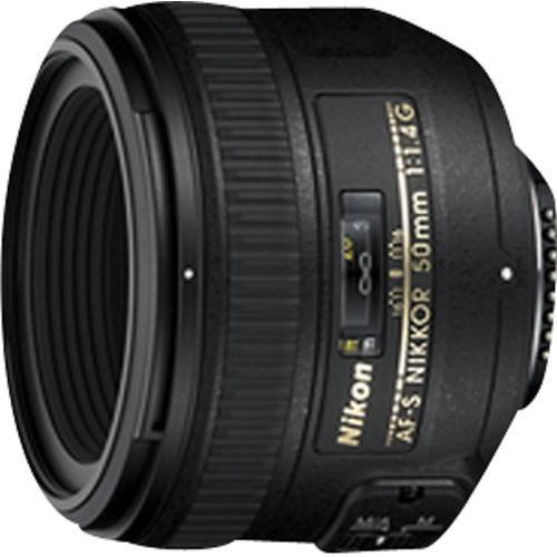 Nikon - AF-S NIKKOR 50mm f/1.4G Standard Lens - Black - Larger Front BEST BUY   approx $450
