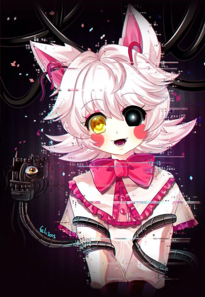 An Anime Character That Looks Like Me : Mangle if she was an anime character looks pretty cute