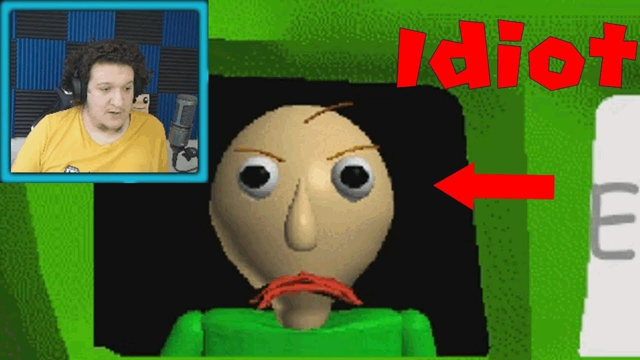 This Game Is So Stupid Baldi S Basics In Education And Learning