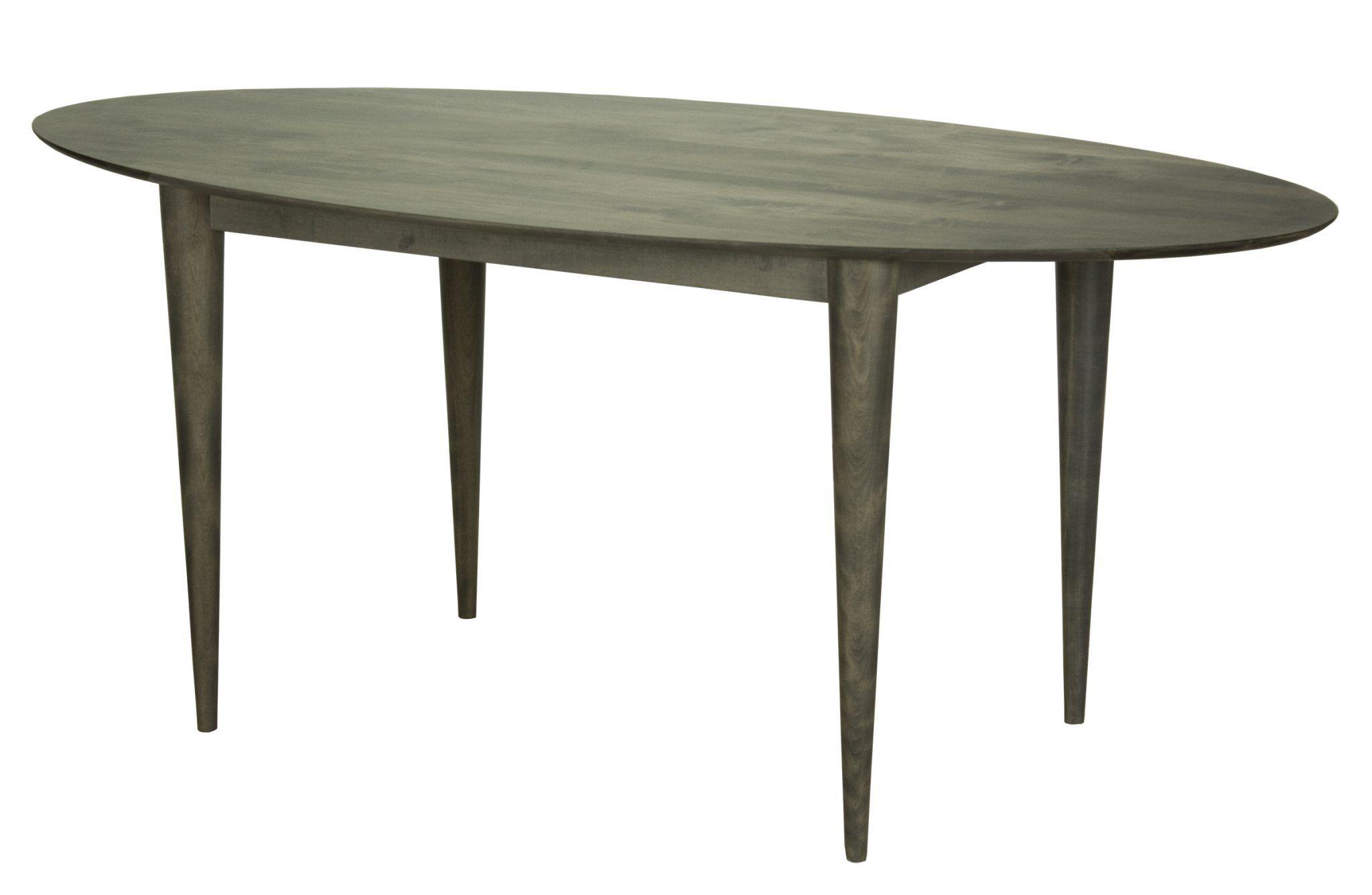 Cona ellipse dining table saloom furniture company