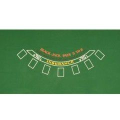 Blackjack table cover casino 2 rue maurice caunes 31200 toulouse