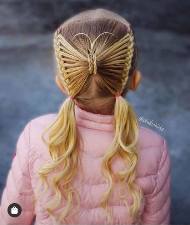 22 Beautiful Kids Hairstyles - The Glossychic