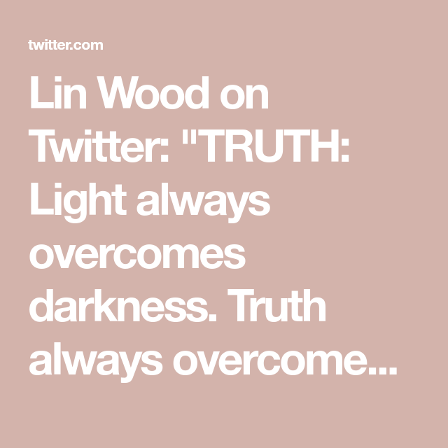 Lin Wood Takes To Twitter - Latest Posts