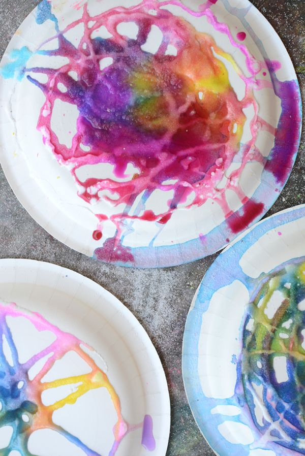Pittura sale è così cool.  I bambini amano!