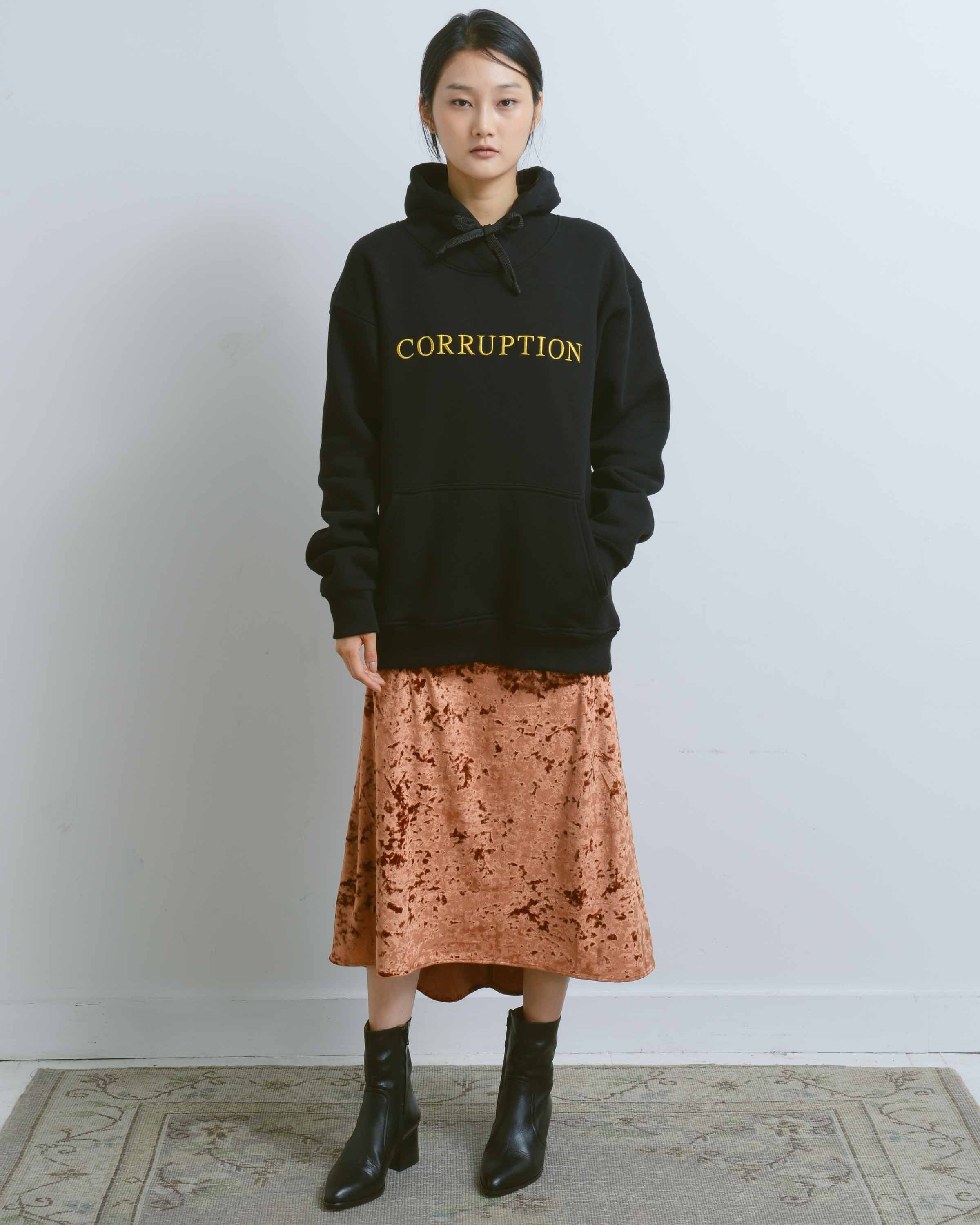 789a1f03 Corruption Hoodie | Products | Hoodies, Kangaroo pouch, Sweaters