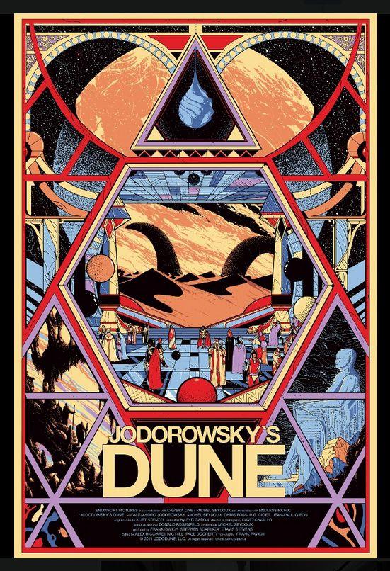 Pin By Santi B On Movies Jodorowsky S Dune Movie Poster Art Mondo Posters