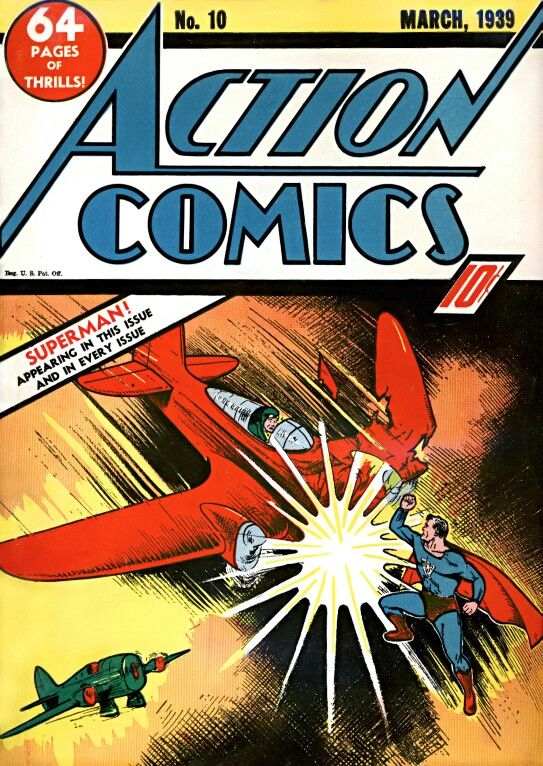 Action Comics 10-10th appearance of Superman