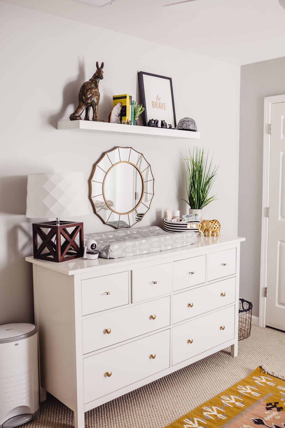 Best Ikea Dresser Modern Nursery Decor Styling Modern 400 x 300
