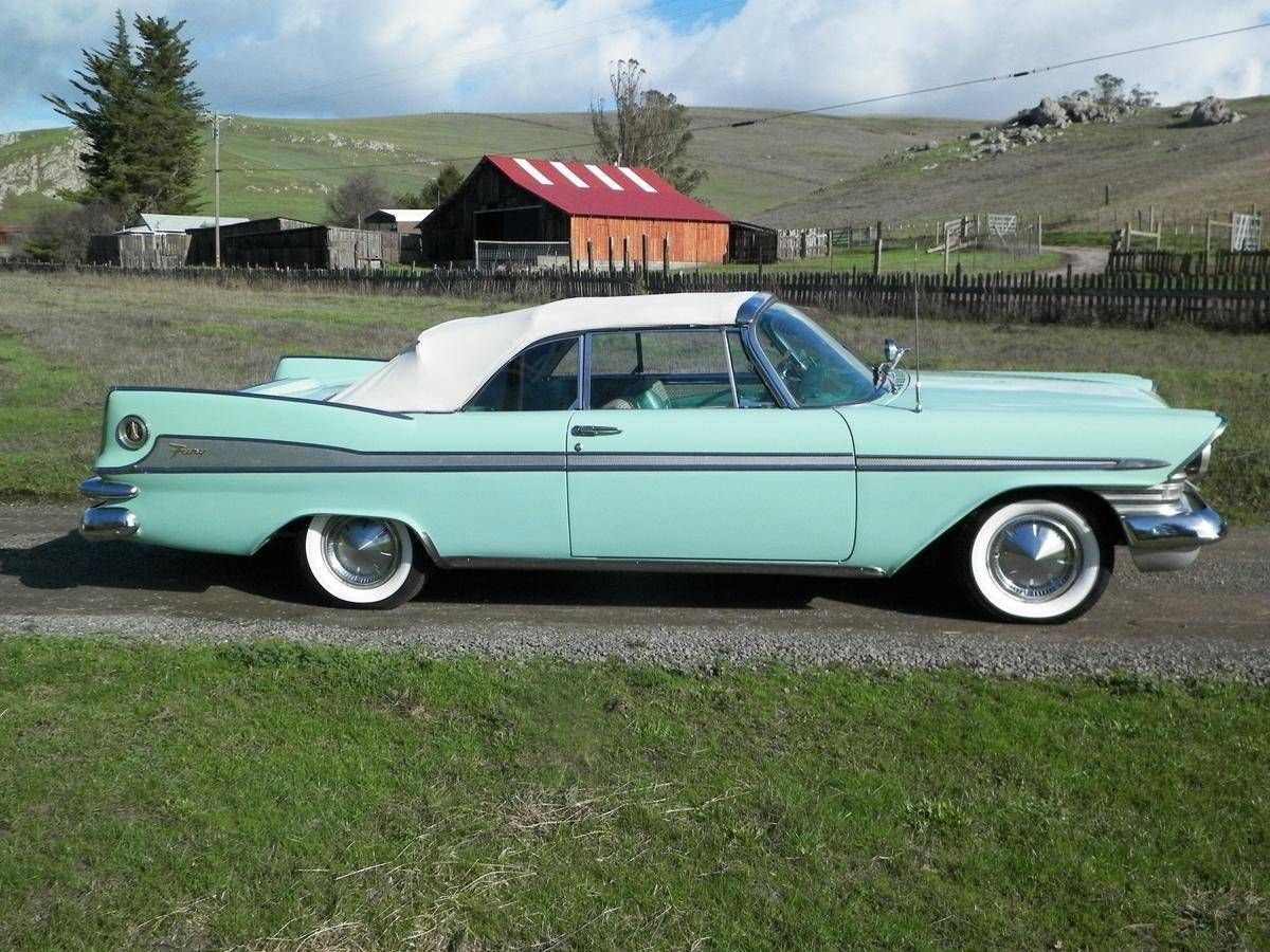 1959 Plymouth Sport Fury Convertible Maintenance/restoration of old ...