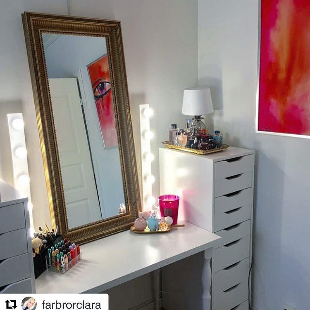 Beauty Light Frame Vanity Table Home Decor Furniture