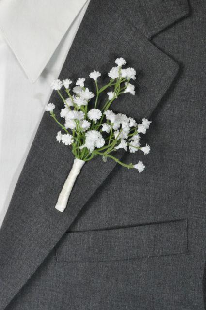 Boutonniere, buttonhole, wedding boutonniere, groomsmen buttonhole, prom boutonniere, wedding flowers, groomsmen, groom, wedding party #whiteweddingflowers